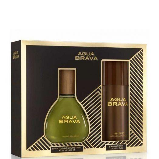 Agua Brava Estuche  Agua Brava Spray 100 Ml + Desodorante 150 Ml