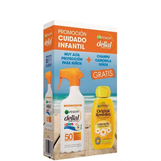 Delial Niños F50+ Original Remedies 300Ml Spray + Regalo Estuche