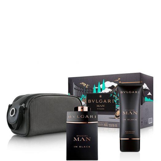 Bvlgari Man In Black Eau de Parfum Spray 100 ml + After Shave Estuche