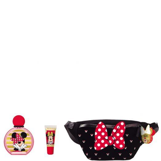 Disney Minnie Eau De Toilette Spray 50 + Lipgloss + Riñonera Estuche