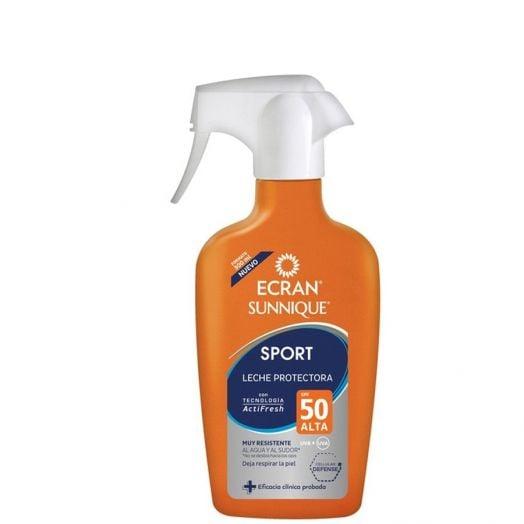 Ecran Sunnique Sport Lecha protectora SPF50 300 ml