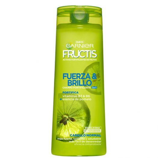 Garnier Fructis Fuerza Y Brillo 2En1 Champú Fortificante 360 Ml