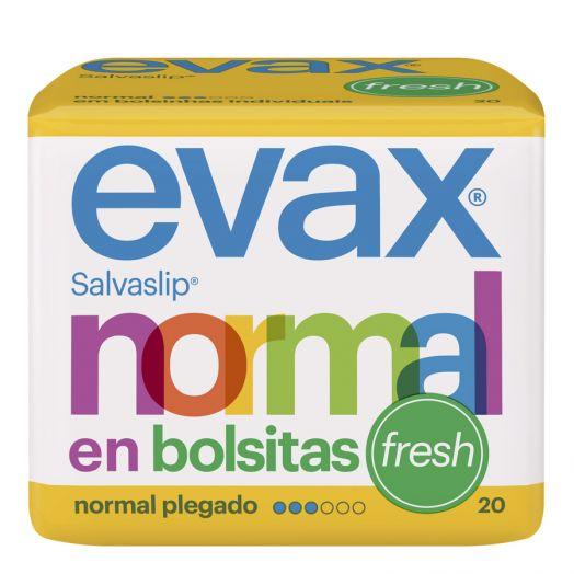 Evax Salvaslip Normal Fresh En Bolsitas 20 U