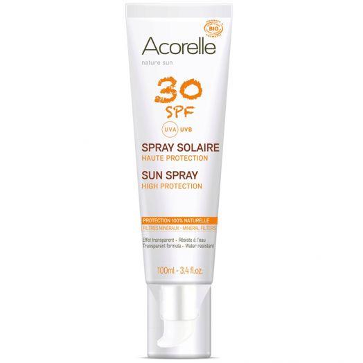 Acorelle Spray Solar Spf30 100 Ml