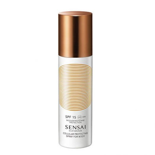 Sensai Silky Bronze Spray For Body (Spf15) Cellular Protective