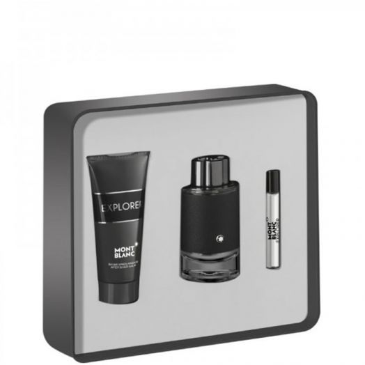 Montblanc Explorer Eau de Parfum Spray 100 ml + After + 10 ml Estuche