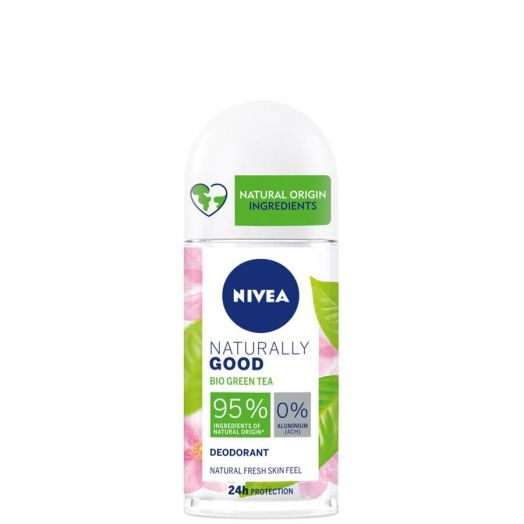 Nivea Naturally Good Bio Green Tea Desodorante Roll-on 50 ml