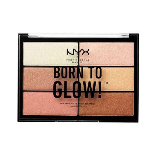 Nyx Professional Make Up Born To Glow Highlighting Palette Paletas de iluminadores