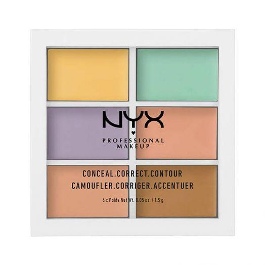 Nyx Professional Make Up Color Correcting Palette Paletas de correctores del color