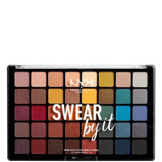 Nyx Professional Makeup Swear By It Shadow Paleta de Sombras y Coloretes