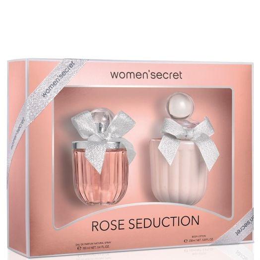 Women'Secret Rose Seduction Eau De Parfum Spray 100 Ml + Body Estuche