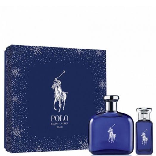 Ralph Lauren Polo Blue Eau de Toilette Spray 125 ml + 30 ml Estuche