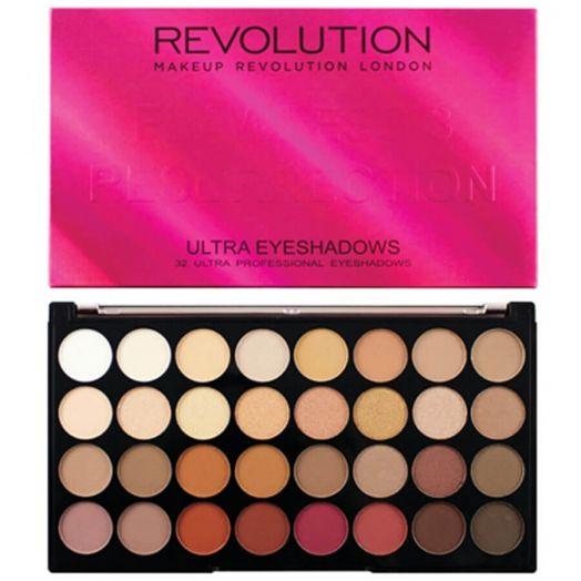 Makeup Revolution Paleta 32 Sombras De Ojos Ultra 32 Flawles 3 Resurrection