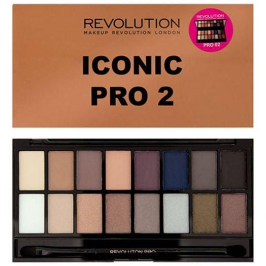 Makeup Revolution Paleta De Sombras De Ojos Salvation Iconic Pro 2