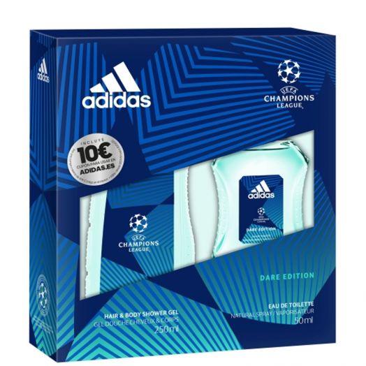 Adidas Estuche  Adidas Uefa Edt Spray 50 Ml+ Gel 250+ Voucher