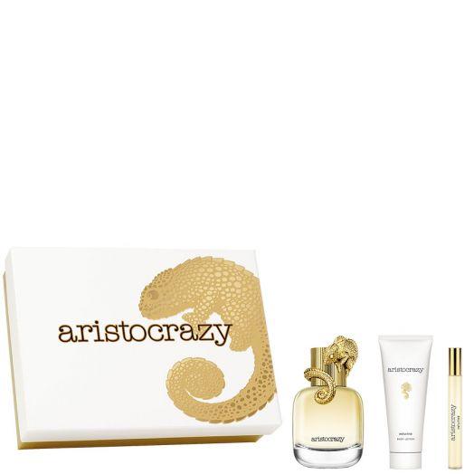 Aristocrazy Intuitive Eau De Toilette Spray 80 Ml + Vial + Body Estuche
