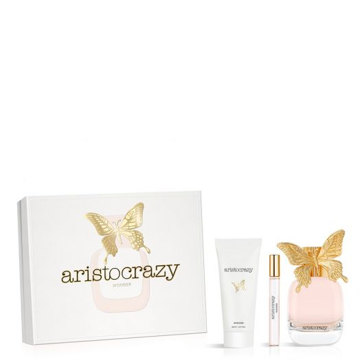 Aristocrazy Wonder Eau De Toilette Spray 80 Ml + Vial + Body Estuche