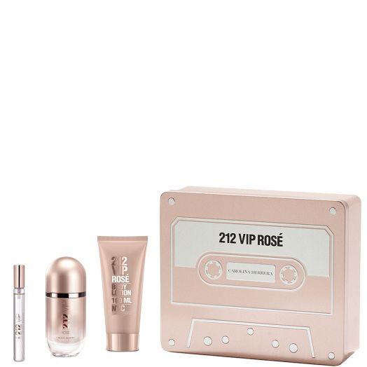 Carolina Herrera 212 VIP Rosé Eau De Parfum Spray 50 ml + Body + Vial