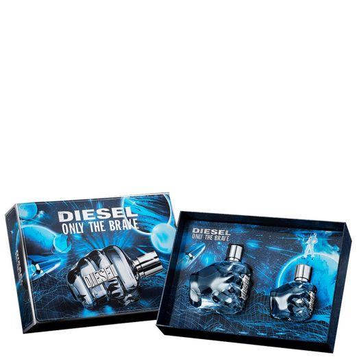 Diesel Only The Brave Eau de Toilette Spray 125 ml + Spray 35 ml Estuche