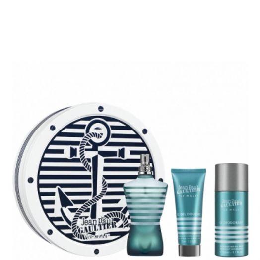 Jean Paul Gaultier Le Male Eau De Toilette Spray 125 Ml + Gel + Desodorante Estuche