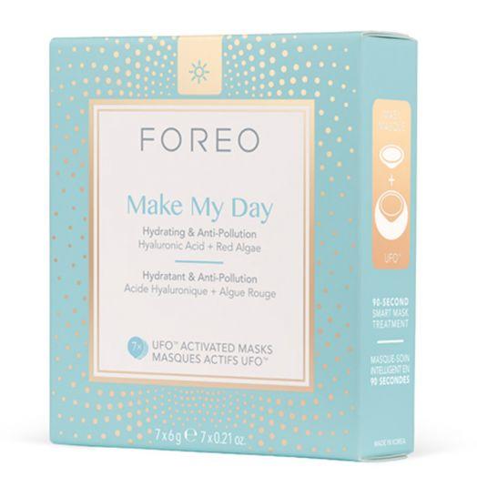Foreo Make My Day Tratamiento Facial Hidratante Y Anticontaminación 7 U