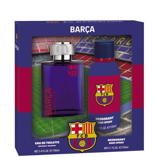 Futbol Club Barcelona Colonia Spray 100 Ml + Desodorante 150 Ml