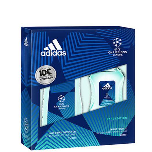 Adidas Uefa Champions League Eau De Toilette 50 Ml + Gel Estuche
