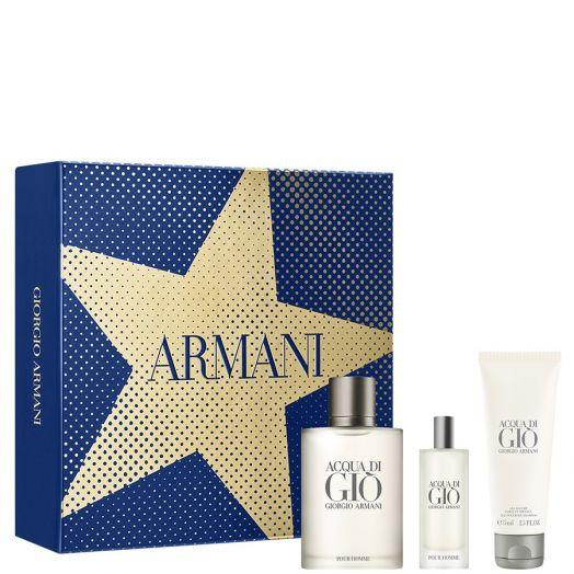 Armani Acqua di Giò Eau de Toilette Spray 100 ml + Gel de baño + Vial