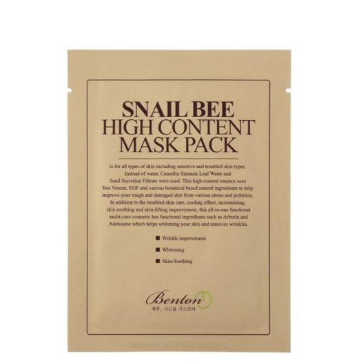 Benton Snail Bee High Content Mask