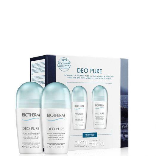 Biotherm Deo Pure Invisible Desodorante Roll-On Cofre De Regalo