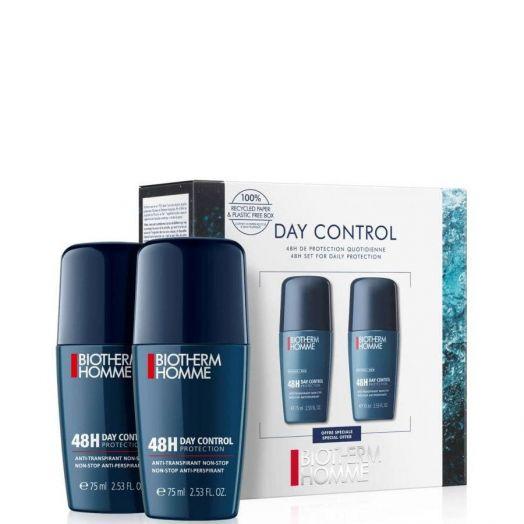 Biotherm Homme 48H Day Control Duo Roll-On Desodorante Estuche