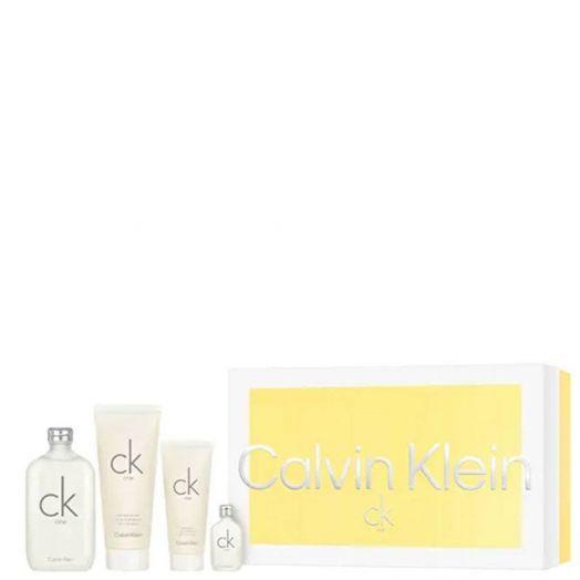 Calvin Klein Ck One Edt Spray 200 ml + Body + Gel + Vial Estuche