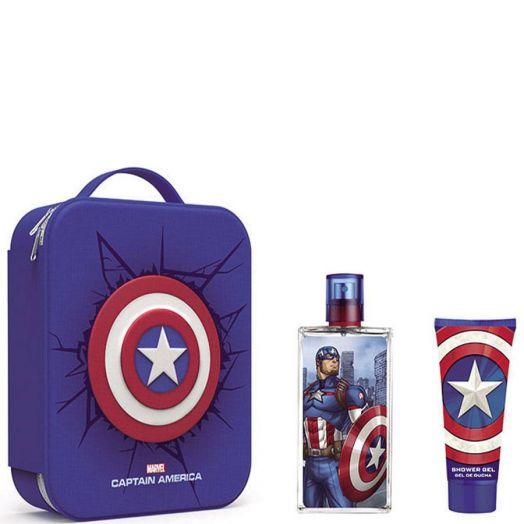 Capitán América Capitán América Spray 100 ml + Gel Estuche