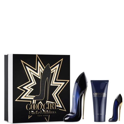 Carolina Herrera Good Girl Eau de Parfum Spray 80 ml + Body + Minitalla