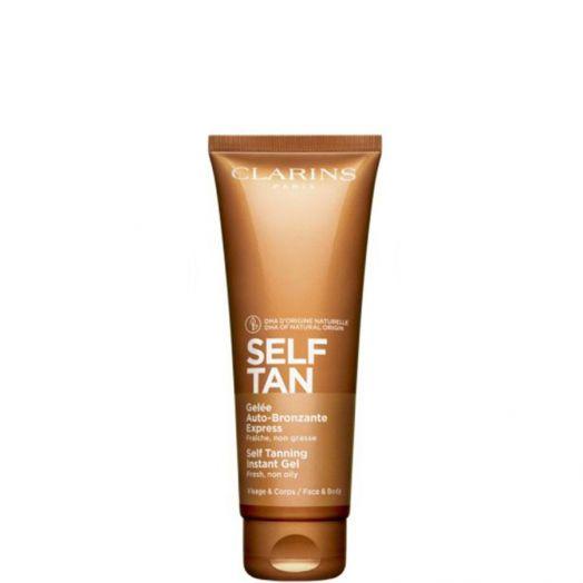 Clarins Self-Tanning Tinted Gel Autobronceador Ilumina y Refresca 125 ml