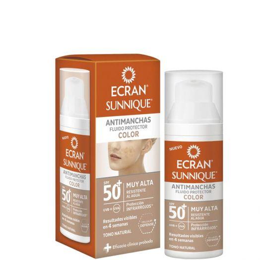 Ecran Sunnique Antimanchas Fluido Protector Color SPF50+ 50 ml