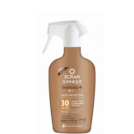 Ecran Sunnique Broncea+ Lecha protectora SPF30 100 ml