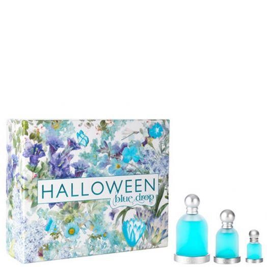 Halloween Blue Drops Toilette Spray 100Ml + 30Ml + Miniatura Estuche