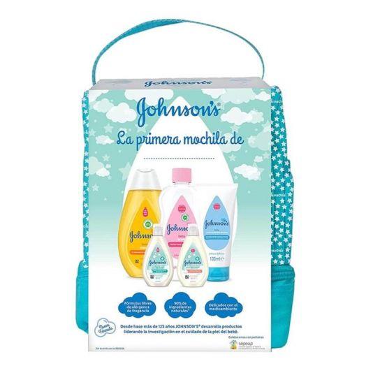 Johnson's Johnson'S Baby Mochila Verde Champu + Crema+ Aceite + Locion + Gel Estuche