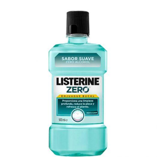 Listerine Zero Mentol Enjuague Bucal 500 ml