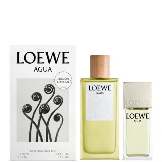 Loewe Agua EDT Eau de Toilette Spray 150ml + 30 ml Estuche