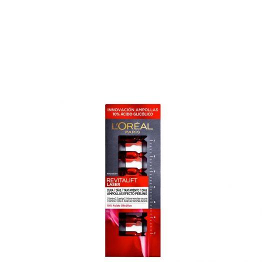 L'Oréal Revitalift Laser Ampollas con Ácido Glicólico