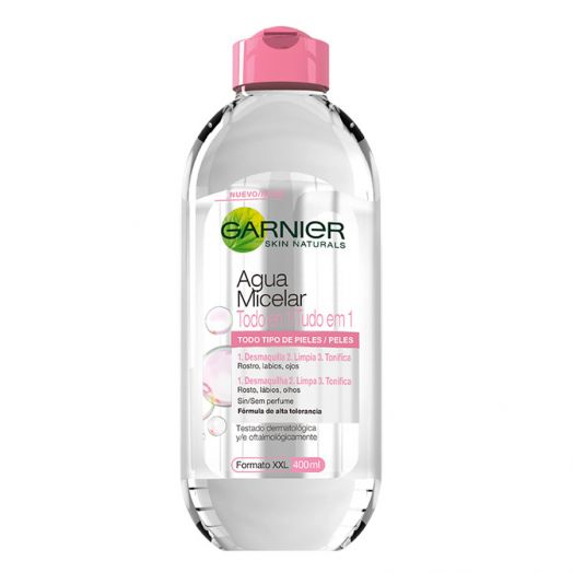 Garnier Agua Micelar Todo En Uno - Todo Tipo De Pieles 400 Ml