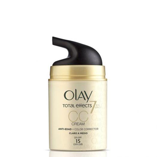 Olay Total Effects Cc Cream (Claro A Medio) 50 Ml