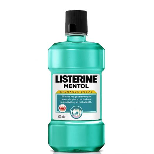 Listerine Mentol Enjuague Bucal 500 Ml