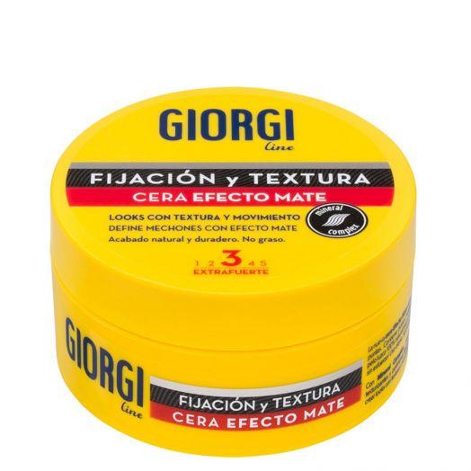 Giorgi Fijación Y Textura Cera Efecto Mate 75 Ml