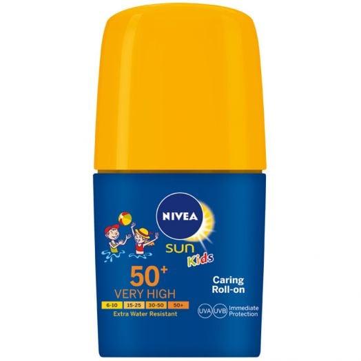 Nivea Roll-On Niños Fp 50+ 50 Ml