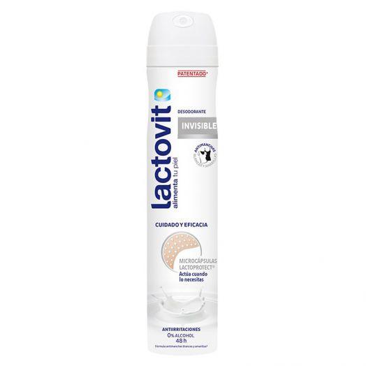 Lactovit Invisible Desodorante En Spray 200 Ml