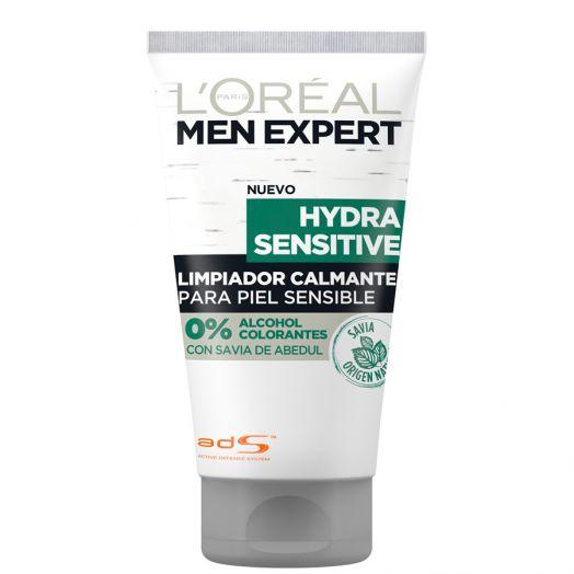 L'Oreal Men Hydra Sensitive Gel Limpiador Calmante Piel Sensible 150Ml