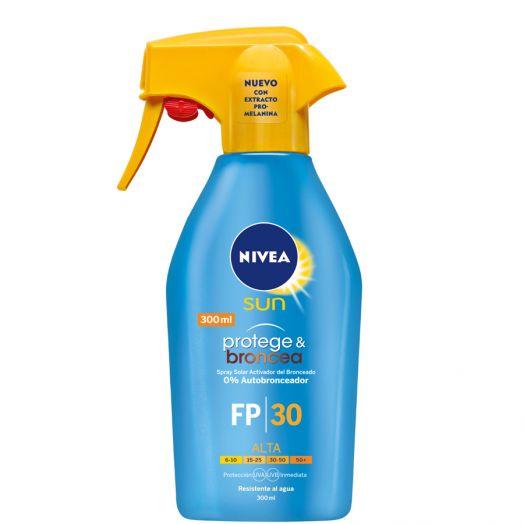Nivea Sun Protege&Broncea Spray Protector Spf 30 300 Ml